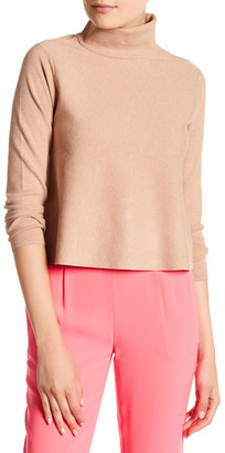 MILLY Solid Turtleneck Pullover $275 thestylecure.com