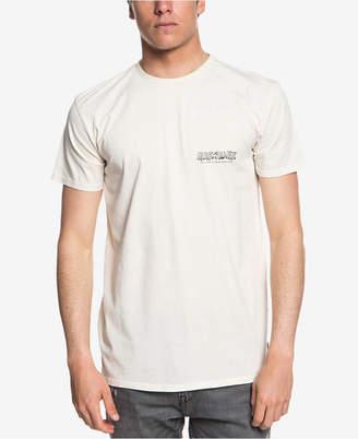 Quiksilver Men's Original Mountain & Wave Logo Graphic T-Shirt