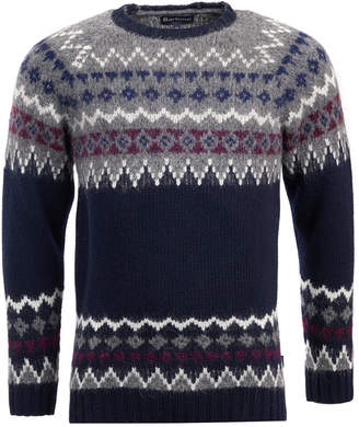 Barbour Men's Wetheral Fairisle Wool Sweater