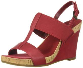 Aerosoles Women's Plush Behind Wedge Sandal