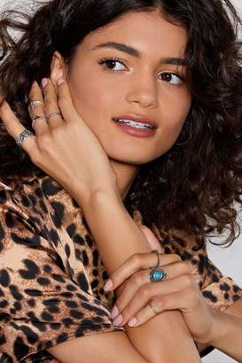 Nasty Gal The Devil's in the Details 7-Pc Ring Set