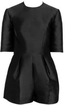 Stella McCartney Silk Satin Tailored Romper