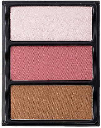 Theory Viseart I Blush, Bronzer & Highlighter Palette.