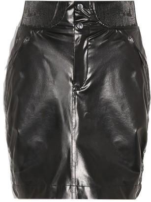 Isabel Marant Faux leather miniskirt