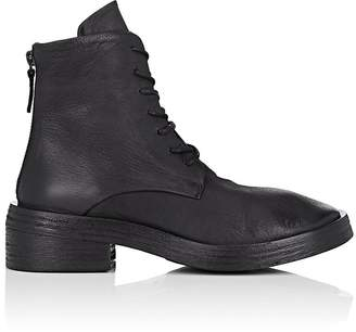Marsèll Women's Distressed Leather Combat Boots