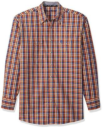 Wrangler Men's George Strait Big and Tall Two Pocket Shirt