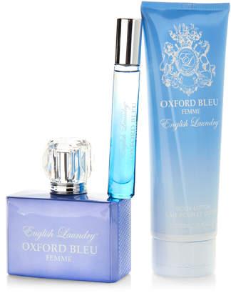 English Laundry Oxford Bleu Femme 3-Piece Fragrance Gift Set
