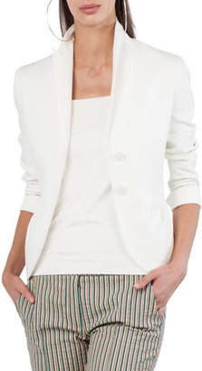 Akris Punto Two-Button Jersey Blazer