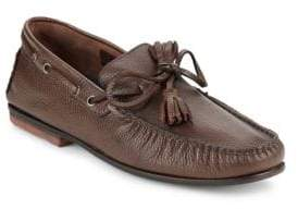 Bacco Bucci Arena Tie Leather Loafers