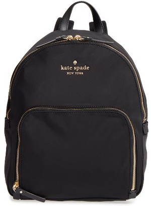 Kate Spade New York Watson Lane - Hartley Nylon Backpack - Black $198 thestylecure.com