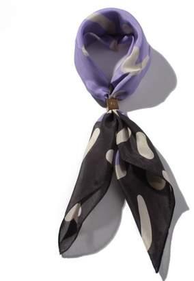 Droite lautreamon (ドロワット ロートレアモン) - ドロワット ロートレアモン リング付きシルクスカーフ