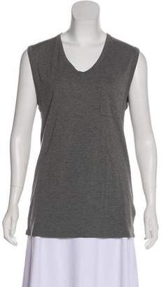 Alexander Wang Sleeveless Scoop Neck T-Shirt