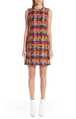 ADAM by Adam Lippes Multicolor Tweed Sheath Dress