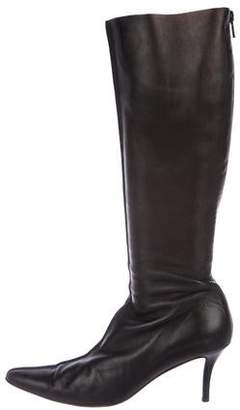 Walter Steiger Leather Knee-Length Boots
