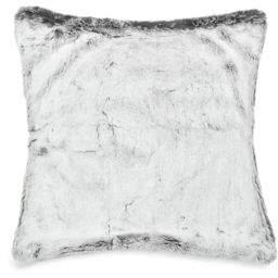 Bea Yuk Mui Nema Home Winter Grey Faux Fur Pillow