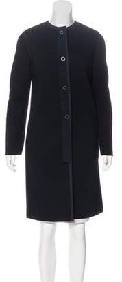 Lanvin Wool Knee-Length Coat
