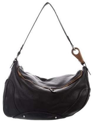 Celine Leather Hobo Bag