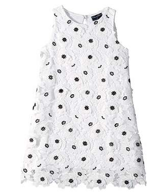 Oscar de la Renta Childrenswear Polka Dot Dress (Little Kids/Big Kids)