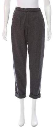 Massimo Alba High-Rise Straight-Leg Pants w/ Tags