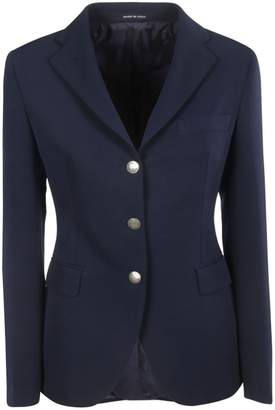 Tagliatore Buttoned Embellished Blazer