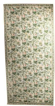 "Stark Floral Wool Rug, 10' x 19'9"""