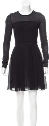 Proenza Schouler Long Sleeve Mini Dress