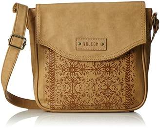 Volcom Dezert Mist C/body, Women's Shoulder Bag, Braun (Vintage Brown), 7x23x23 cm (B x H T)