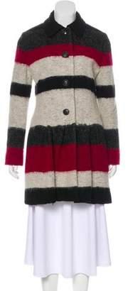 Thakoon Knee-Length Wool-Blend Coat