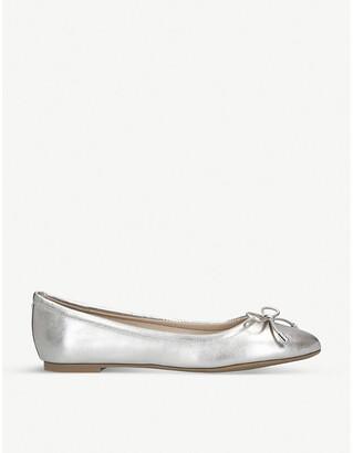 Aldo Unelamma metallic leather ballerina flats