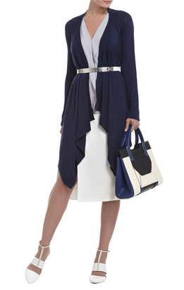 BCBGMAXAZRIA Jacklin Raglan-Sleeve Draped-Front Cardigan