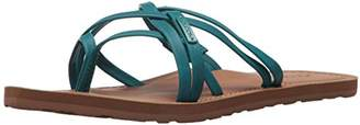 Volcom Women's Happy Multi Strap Fashion Flat Sandal
