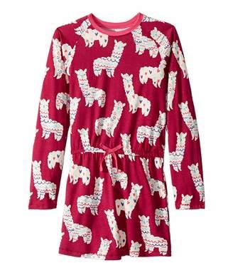 Hatley Adorable Alpacas Drop Waist Dress (Toddler/Little Kids/Big Kids)