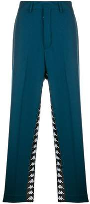 Paura x Kappa relaxed trousers