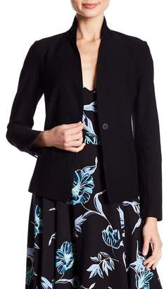 Eileen Fisher Solid Stretch Blazer (Petite)