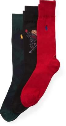 Ralph Lauren Bear Sock Gift Box