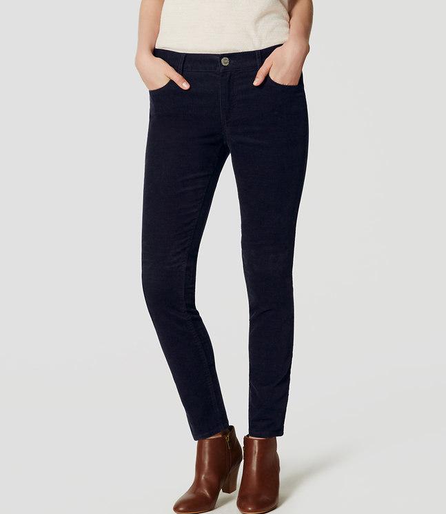 Modern Skinny Corduroy Pants