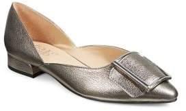 Franco Sarto Shauna Buckle Toe Flats
