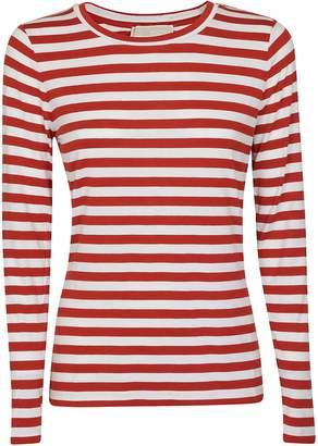 Michael Kors Striped Print Long-sleeved T-shirt