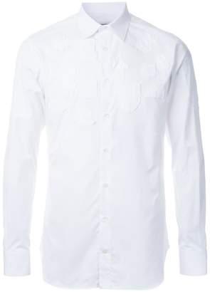 Alexander McQueen appliquéd shirt