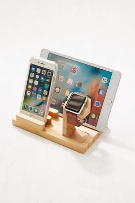 Urban Outfitters Wooden Multi-Device Charging Dock
