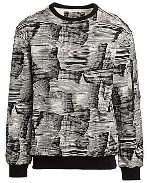 Madison Supply Women's Utility Printed Sweater
