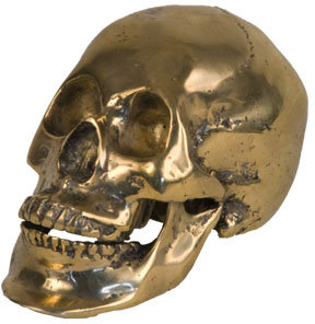 Hand Cast Skull