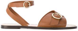 Tila March buckled Sedano sandals