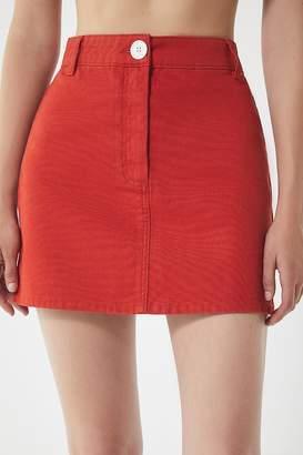 BDG Canvas Mini Skirt