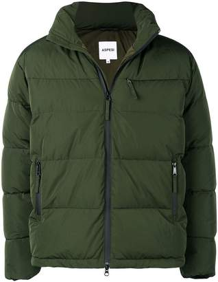 Aspesi zip pocket padded jacket