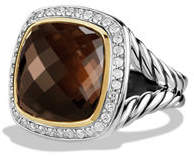 David Yurman 14mm New Albion Champagne Citrine Ring