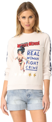 ElevenParis Wonder Woman Sweashirt $77 thestylecure.com
