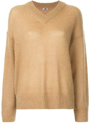 H Beauty&Youth oversized long-sleeve sweater