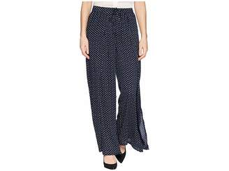 Bobeau B Collection by Ita Polka Dot Pants Women's Casual Pants