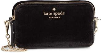 Kate Spade Thompson Street - Holly Velvet Crossbody Bag